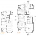 خانه آبی ملایم-پلان